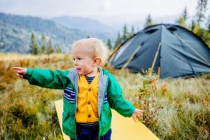 Camping on Dartmoor